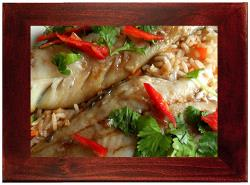 bbq sea bass fillets meal