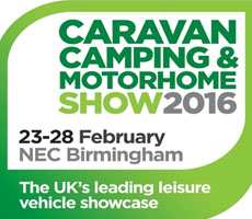 Caravan, Camping and Motorhome Show Logo