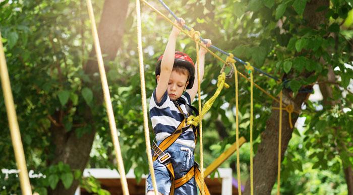 Rope Course (Shutterstock, Nataliia Zhekova)