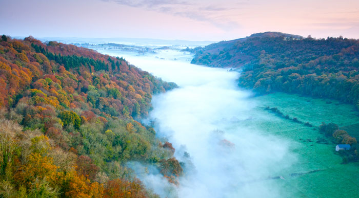 The view from Symonds Yat, Bracelands