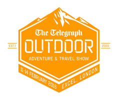 Telegraph Outdoor Adventure and Travel Show Logo