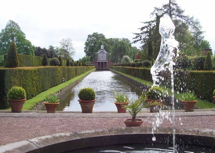 Westbury Court Garden Fountain