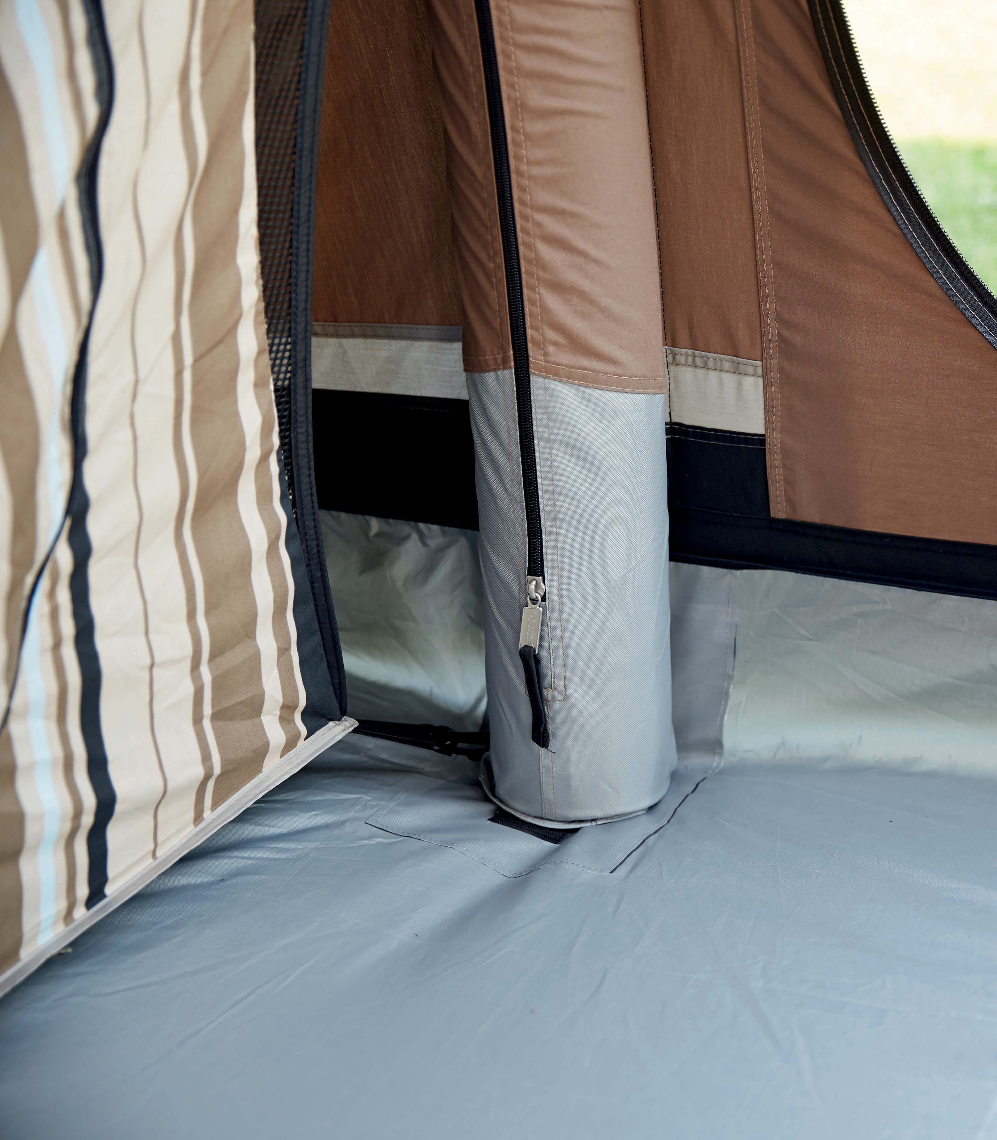 airtube & Guide to tent poles