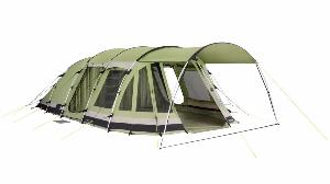 Tent made from polycotton fabric
