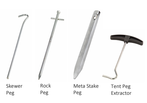 Guide To Tent Pegs Designs