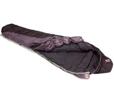open sleeping bag