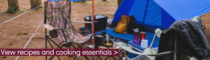 camping kitchen set up (shutterstock, Patiwat Sariya)