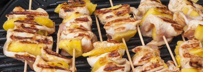 Pork and Pineapple Skewers (Shutterstock, Igor Marx)