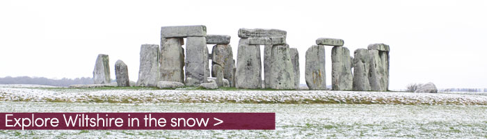 Stonehenge in the snow (Shutterstock, Bill45)