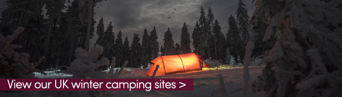 winter camping at night (shutterstock, Ondra Vacek)