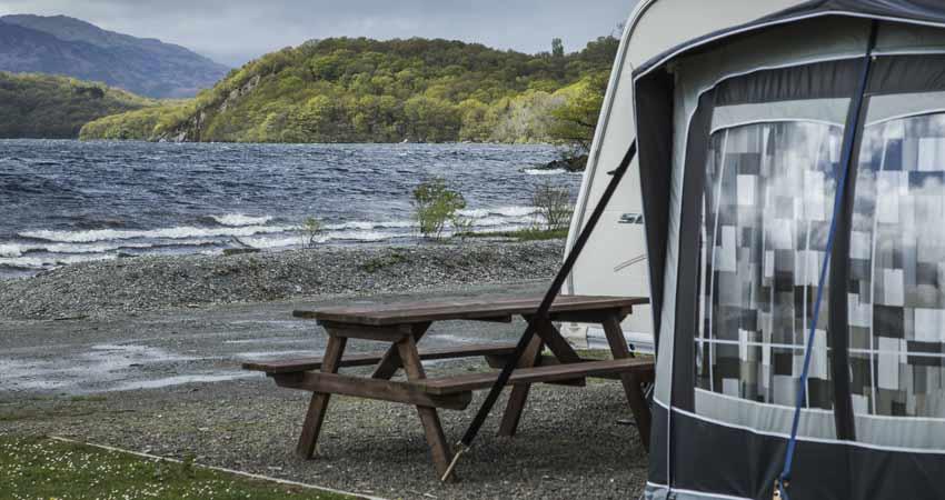 Loch-side-camping
