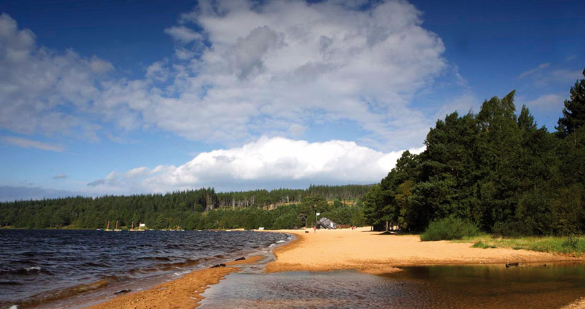 glenmore campsite in the cairngorms