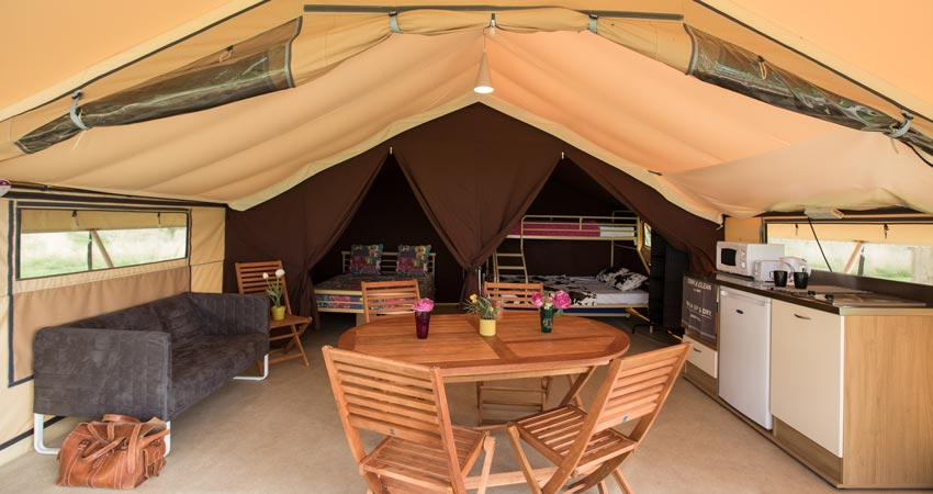 Forest of Dean Glamping | Bracelands Ready Camp |Camping in