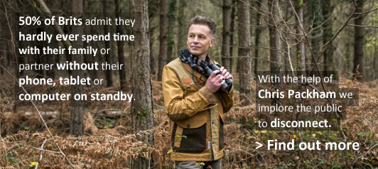 Chris Packham in the New Forest